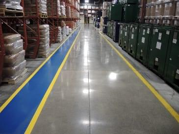Commercial & industrial concrete floor contractor