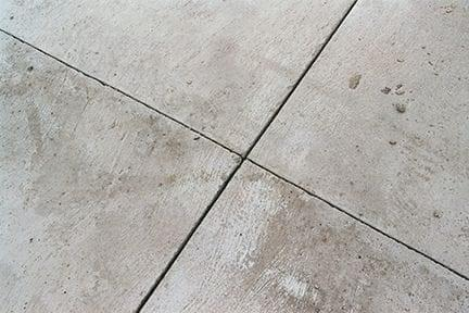 Construction Joints Are Found Periodically Throughout A Warehouse Floor